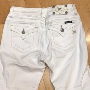 Miss Me Jeans - NWOT Miss Me white distressed jeans